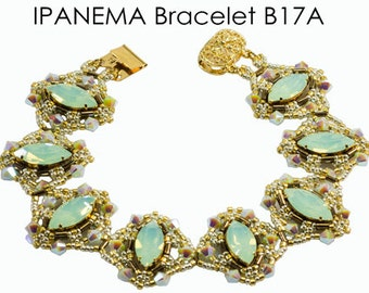 IPANEMA Beadwork Bracelet Pdf tutorial instructions for personal use only