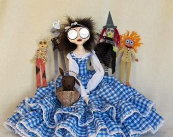 Dorothy Gale & Friends - Wizard of Oz Art Doll