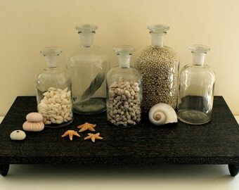 Instant Collection Five Vintage Apothecary Jars