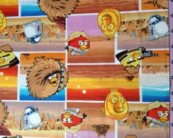 Angry Birds Star Wars Tatooine Fabric By The Yard FBTY