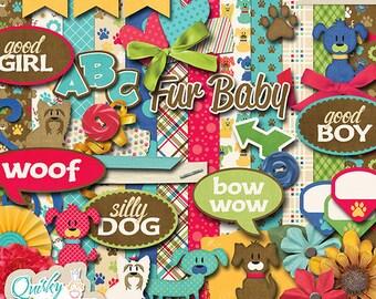 Good Doggie Digital Scrapbook Kit