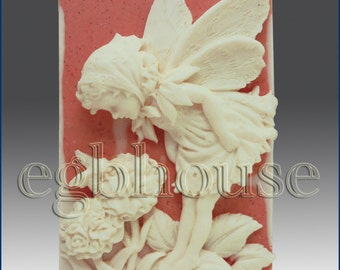 2D silicone Soap/polymer/clay/cold porcelain mold-Summer Fairy,Sebille - free ship -u are buying from original designer - say no to copycats