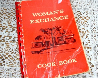 Vintage Cook Book, Women's Exchange, Cookbook, Memphis Tennessee, Recipes, Southern Recipes, 1967  (26-14)