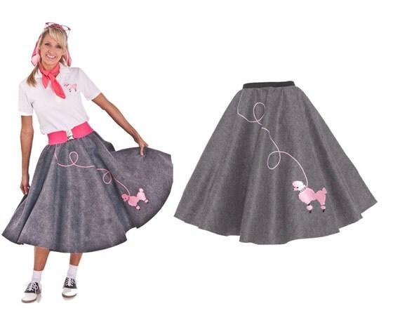 Comment faire une jupe orne d'un caniche sans patron et
