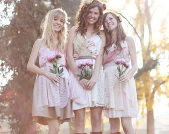 Individual Deposits for Erin Ahlstrom's Custom Bridesmaids Dresses