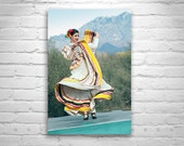 Folklorico, Mexican Dancer Photograph, Hispanic Dance, Tumacacori, Dancing Photography, Fine Art Print, Arizona, Fiesta