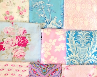 32x32 Tanya Whelan Slipper Roses Baby Blanket Made to Order