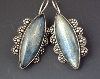Kyanite Marquis Earrings