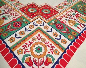Vintage VICRAY Tablecloth