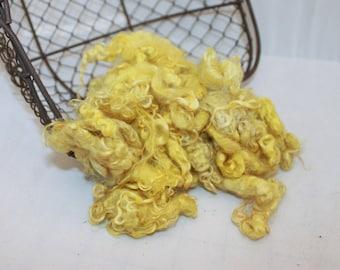 Yellow Mohair Locks #629