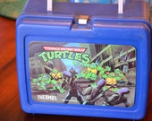 Teenage Mutant Ninja Turtles Vintage Plastic Lunchbox