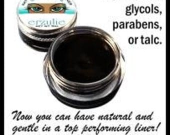 Special Three Organic and Matural Mineral Gel Eyeliners   Naturagel™ Gluten Free  non-toxic makeup