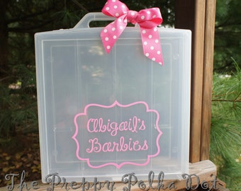 Personalized Barbie Doll Case