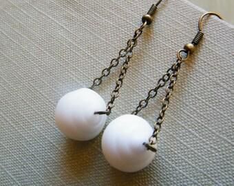Sea Shell -  Dangling Earrings