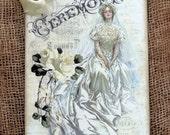 Victorian Bride Wedding Tags #673