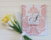 Damask Spiral Bound Personalized Notebook