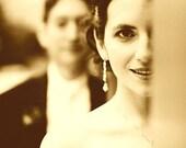 Pearl Bridal Earrings, Vines Earrings, Sterling Silver Posts, Swarovski Crystal Jewelry, TWINE