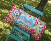 Handmade Little Girl Nap Mat with Free Monogramming of one name