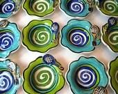 Tennis Love Handmade Pottery Bowl