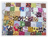 "I Spy Food Quilt, Lap Quilt, Game and Quilt for Kids, Lots of Foods ""I Spy"" quilt, 34""x40"", colorful and full of fun"