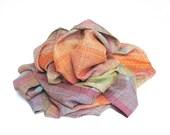 Handwoven baby wrap in linen-ramie, cotton