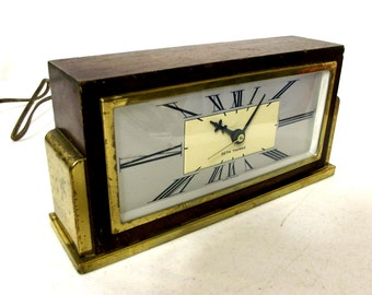 Art Deco style Seth Thomas mantle clock - vintage home decor