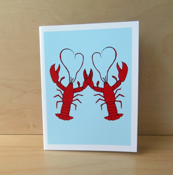 SALE Lobster Love Card