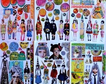Collage Sheets - set B
