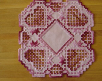 Lacy Hardanger Hearts
