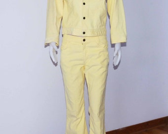 1970 Levis 512 corduroy bell bottoms with matching jacket size medium shipping included Usa & Can