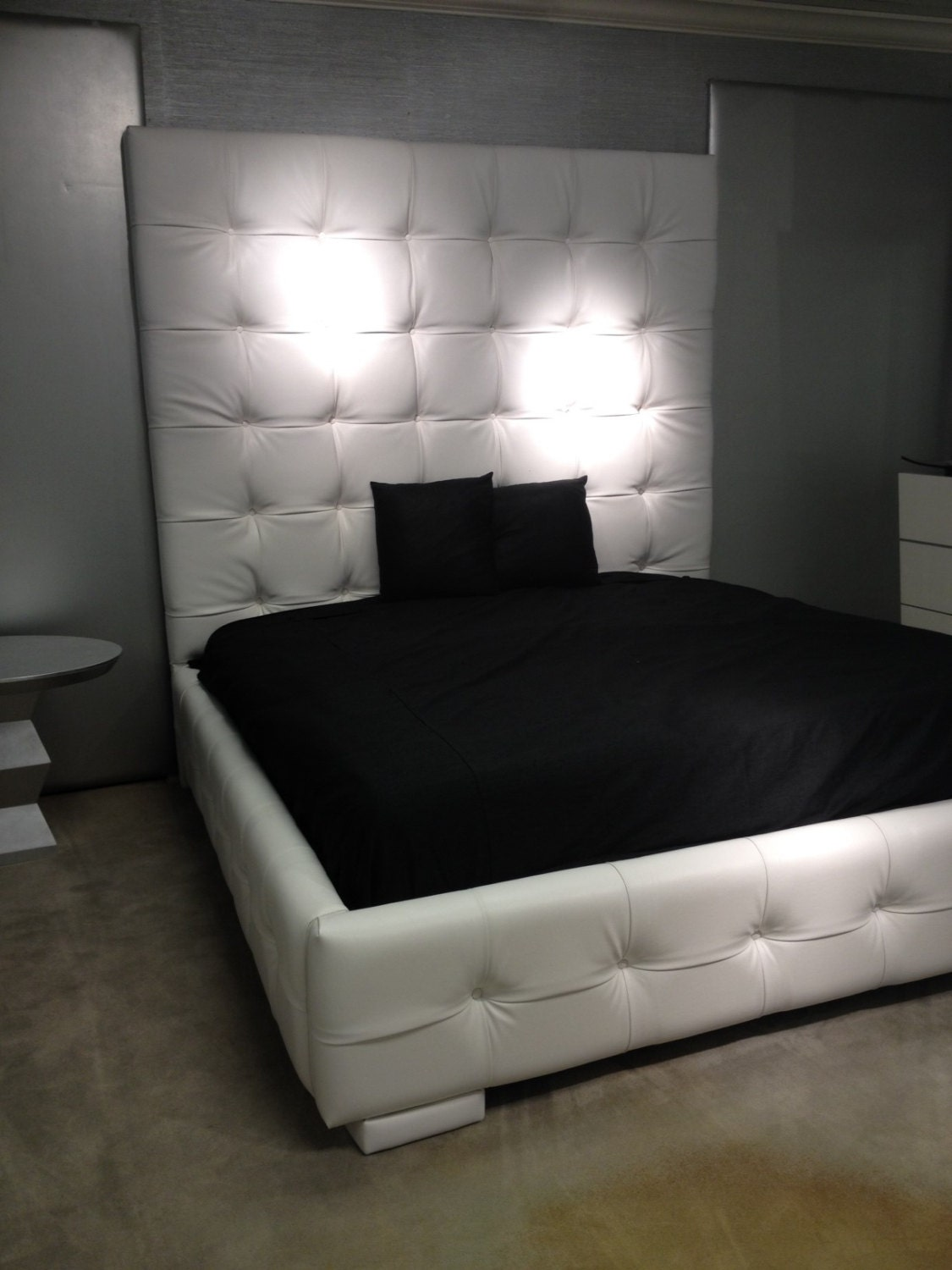Tall headboards for queen beds -  Zoom