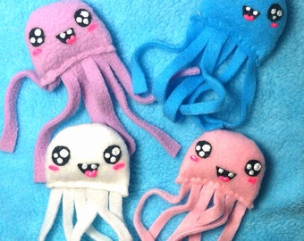 Cute Plush Jellyfish - You Pick the Color!
