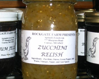 Fresh From the Farm, Home-made Zucchini Relish