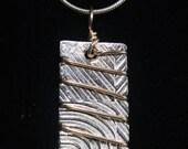 Fine Silver Pendant...