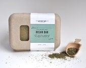 Ocean Bar- nutritious peppermint and spirulina bar for better, healthier skin