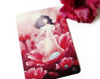 Dew Faery - Postcard