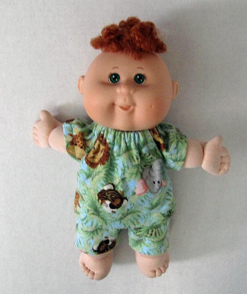Vintage 1983 Koosas Cabbage Patch Kids doll animal toy KT
