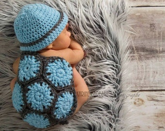 Newborn Turtle Set Photo Prop