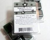 Oakmoss wax melts, Fresh fragrance, Strong paraffin wax tarts, scented wax melts, Nuggets