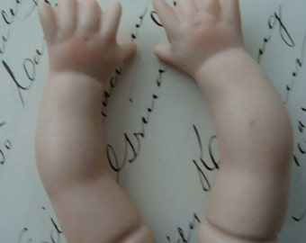 Antique Bisque Baby Doll Arms N0 260