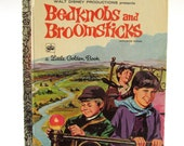 1971 Little Golden Book, Bedknobs and Broomsticks, Pre School Book, Picture Book, Walt Disney, Adventure Story, Based on Movie
