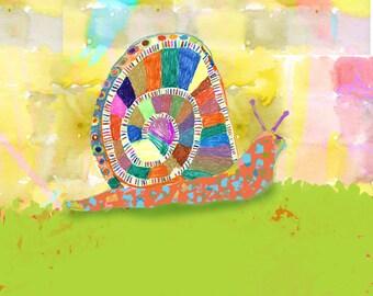 The Rainbow Snail
