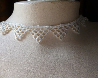 2 Yds. Ivory Venise Lace for Bridal, Garters, Christening or Baptism Gowns, Costumes L 300