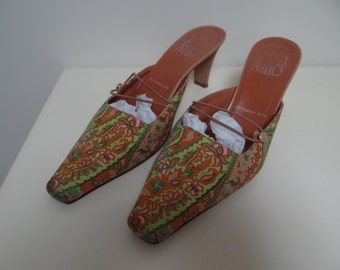 Bergdorf Goodman Mules, Vintage shoes