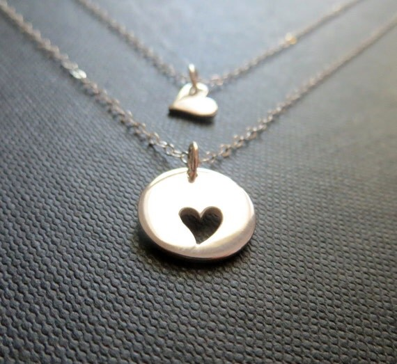 Mother daughter jewelry mother daughter necklace 2 like this item aloadofball Image collections