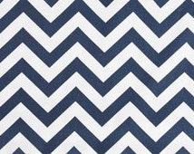 Navy Chevron Tablecloth: Rectangle, Square, Round, Custom Size, Dinner, Party, Wedding, Runner, Throw Pillow, Napkins, Curtains