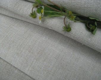 C 340 antique handloomed PALE NATURAL 10.16 y upholstery fabric 24.80 wide rural and rustic very primitive