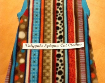 Show UR Stripes Body Sock - Sphynx Cat Clothes