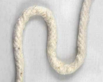 Natural cotton piping for cording, sold by the yard
