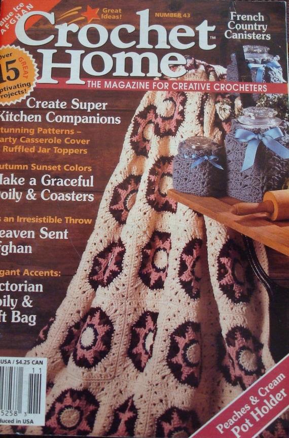Crochet Home Magazine : Patterns-Crochet Home Magazine No. 43 Oct-Nov 1994/Crochet Afghans ...